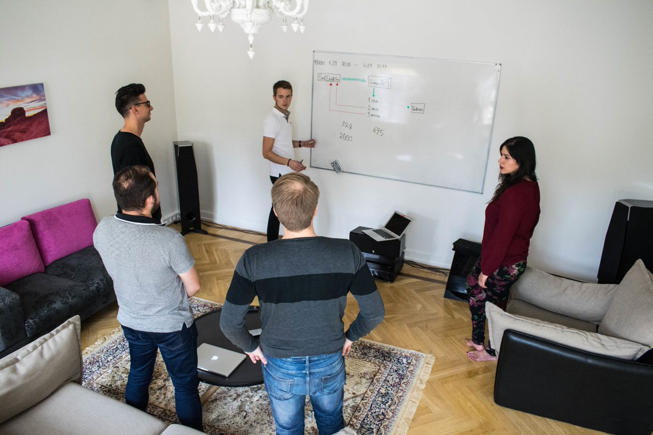 Team Meeting - Life at Finzmo